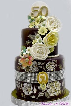 Hope at 50 - Cake by Mucchio di Bella