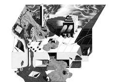 Eva Le Roi / Climax / Contribution graphique à l'exposition Dithyrambes.  [Re] Nouveaux Plaisirs d'Architecture #3.