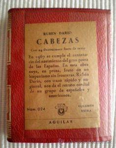 """100 ANOS DA MORTE DE RUBÉN DARÍO. """"Cabezas"""" SIGNATURA: HRMS-11 http://kmelot.biblioteca.udc.es/record=b1268246~S1*gag"""