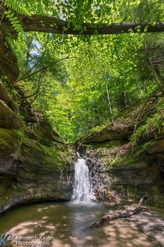 The Punch Bowl at Turkey Run State Park in Parke County, Indiana. See more at www.kennethkeifer.com.