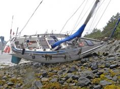 Admiral Yacht Insurance settles for beached Swan - http://www.admiralyacht.com/admiral-news/admiral-latest-news-item.php?newsID=117 #SailingYacht #YachtInsuranceClaim #BoatInsurance