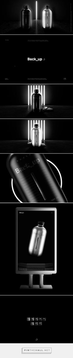 Back_up (Concept) - Packaging of the World - Creative Package Design Gallery - http://www.packagingoftheworld.com/2017/09/backup-concept.html