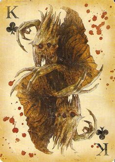 The Crawler as the King of Clubs. Fable 3