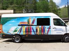 Knott County (Ky.) Public Library bookmobile.