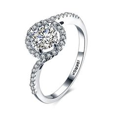 * Penny Deals * - Eternity Love Women Wedding Engagement Rings 18K Gold Plated Cz Diamonds Bands Solitaire Princess Cut Promise Anniversary Bridal Jewelry Infinity Love for Her, 7 * Click image for more details.