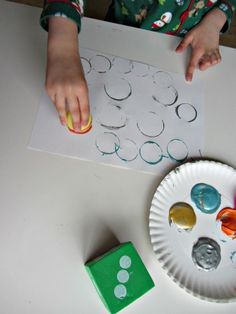 Roll & Paint – Math and Art Together -  Pinned by @PediaStaff – Please Visit http://ht.ly/63sNt for all our pediatric therapy pins