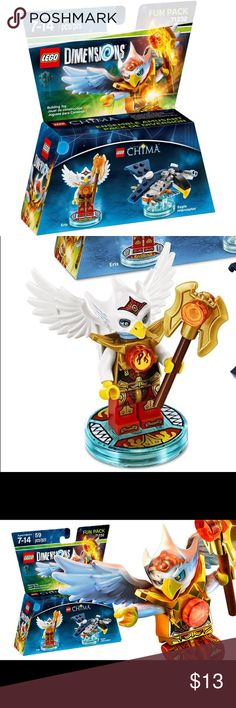 Lego chima NIP Chima For sale is a Lego dimensions, lego chima, Lego number 71232, fun pack. Brand-new in the package. 59 piece set. Lego Accessories