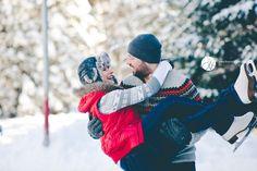 Romantic Winter Date Ideas, couple ice skating, ice skating date, ice skating