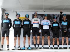 Team Sky   Pro Cycling   Photo Gallery   Dauphine stage one gallery