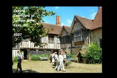 ENGLAND.... Kent - Ightham Mote Gatehouse, Originally dating to around 1320, the building's importance lies in the fact that successive owners effected relatively few changes to the main structure