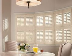 Teak Wood Shutters | Wood Shutters | Specialty Shape Shutters | Stain Colored Shutters | Window Coverings | Window Shutters | Superior View Products