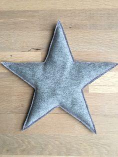 Traubenkernkissen Stern  von Kleine Lieblingsteile auf DaWanda.com