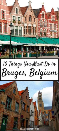 Looking for some Belgium travel inspiration to fuel your wanderlust? If you're visiting Belgium, make sure not to miss Bruges! While there, experience these 10 quintessential things to do in Bruges, and you will be in for an awesome two days. From the cit