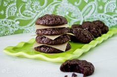 Kristen's Chewy Chocolate Cookies are gluten-free, sugar-free, and very, very chocolatey. A surprisingly healthy splurge for after the Fast Metabolism Diet