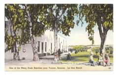 Vintage Arizona Postcard Tucson by PicturesFromThePast on Etsy, $3.75