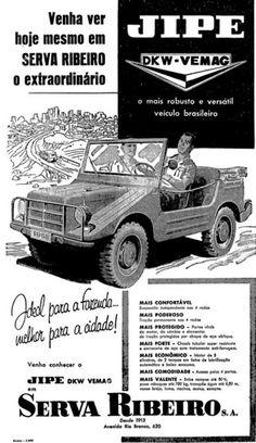 ANOS DOURADOS  IMAGENS   FATOS  IMAGENS   ANÚNCIO 1958 (LEIA AQUI MATÉRIA  SOBRE ESSE JIPE (O