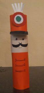 Ovisélet : Barkácsolj huszárt! Toilet Paper Crafts, Paper Plate Crafts For Kids, Christmas Crafts For Kids, Kindergarten Art Lessons, Kindergarten Crafts, Preschool Activities, Diy And Crafts, Arts And Crafts, School Decorations