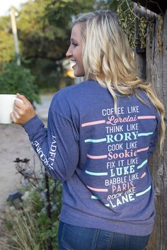 Jadelynn Brooke I Like My Coffee with My Oxygen Long Sleeve Tee