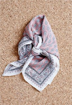 madewell silk bandana.