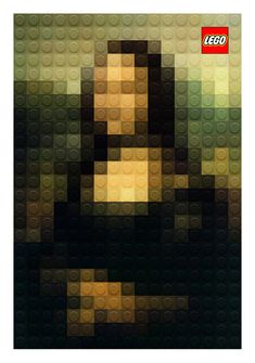 Lego Mona Lisa Recreating Classic Art: Marco Sodanos Cool Collection Made of LEGO