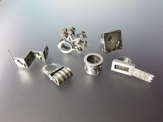 Silver toy rings by Laurel Nathanson.