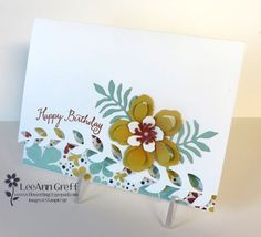When I first saw this bundle of products I squealed with joy; yes I believe I actually did! It is so my style! Then when I saw a card like this made by Nikki Spencer I just had to make it. Isn't it am