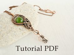 Key pendant  Wire copper soldering by UrsulaJewelry on Etsy, $10.00
