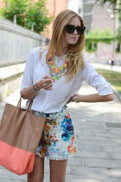 get rid of the bag and it's perfect summer combo!