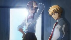 Favourite Anime couple Usui and misaki from kaichou wa maid sama. Description from pinterest.com. I searched for this on bing.com/images