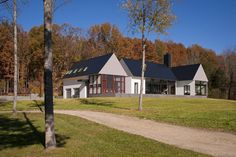 Modern Farmhouse Plans | Modern House In Virginia Countryside