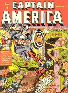 Captain America Comics (1941 Golden Age) 8