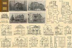 Victorian floor plans.