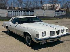 1973 Pontiac Grand Prix J with 455 Motor My dad had one of these in white too!