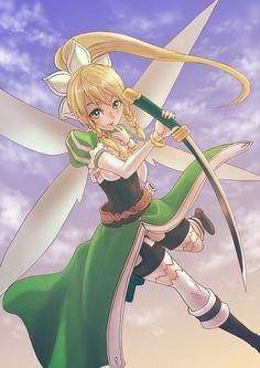 Leafa,Kirigaya Suguha - Sword Art Online,Anime