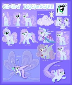 Cloudy Dreamscape Reference Guide by Cloudy-Dreamscape on DeviantArt