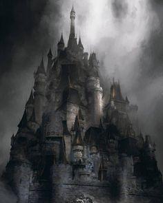 "Daily Fantasy Art on Instagram: ""Art by Glenn Porter @glenn porter design #fantasydaily #fantasy #fa Fantasy castle Fantasy concept art Fantasy landscape"