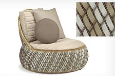 Awesome Upcycled Furniture Designs : Breathtaking Upcycled Furniture Designs With Rattan Ottoman