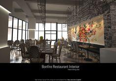 Bonfire Restaurant, Dining Area, Interior, Indoor, Interiors