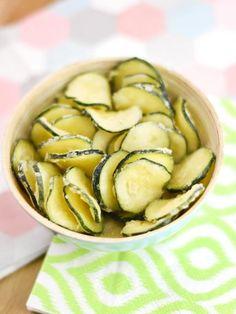 Chips de courgette : Recette de Chips de courgette - Marmiton