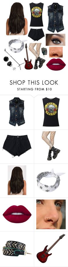 """""""Untitled #1169"""" by thirtysecondsatthepityparty ❤ liked on Polyvore featuring G-Star Raw, Miss Selfridge, Leg Avenue, Lime Crime and Nicole Lee"""