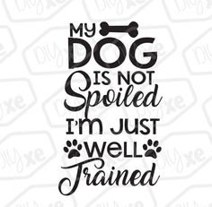 Dog And Puppies Great Dane - - White Dog With Collars - Dog Breeds Labs I Love Dogs, Puppy Love, Cute Dogs, Cute Dog Quotes, Banners, Dog Crafts, Dog Signs, Cricut Vinyl, Animal Quotes