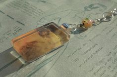 """Number 6 Romance"" Glass Pendant Necklace by turquoiseeye, £12.20"
