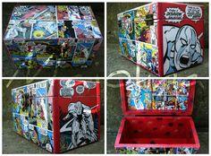 #silversurfer #comics #decoupage #box