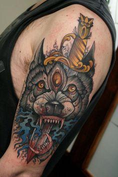 Tattoo by Mitch Allenden