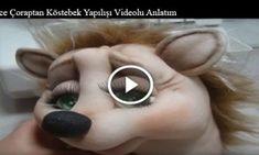 İnce Çoraptan Köstebek Yapılışı Videolu Anlatım