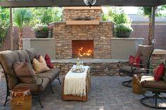 Dore & Dean A traditional patio