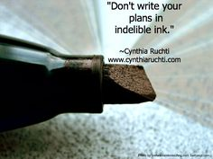 When Life Doesn't Go According to Plan Blog Series: Guest Blogger Cynthia Ruchti 4. 10.11