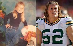 Clay Matthews as a kid