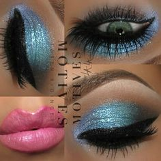 Motives by Loren Ridinger is a trusted name in makeup, skin care, and body care. Shop securely online for your favorite cosmetics and beauty products. Blue Makeup, Pretty Makeup, Makeup Looks, Awesome Makeup, Makeup Tips, Beauty Makeup, Makeup Ideas, Makeup Style, Makeup Tutorials