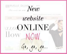 De nieuwe webshop van RUELLE DLUXE is online! Born to be FAB!  Fab outside, rich inside ladies! . www.ruelledluxe.com